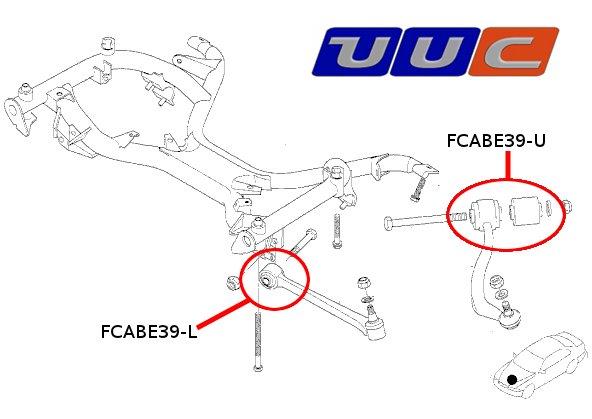 35 E39 Front Suspension Diagram